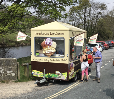 ice cream trailer for hire