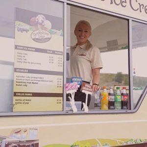 ice cream van for corporate hire and private parties