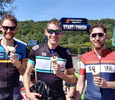 ice cream for cycling events