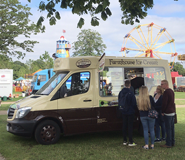 ice cream vans for summer fairs