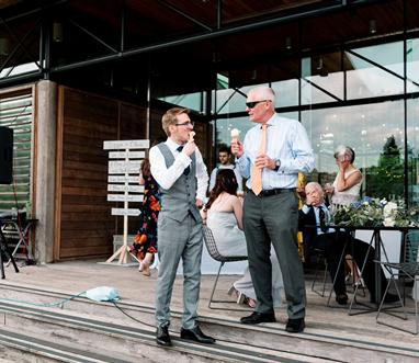 ice cream wedding utopia broughton hall
