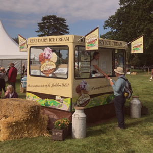 ice cream men shows and events