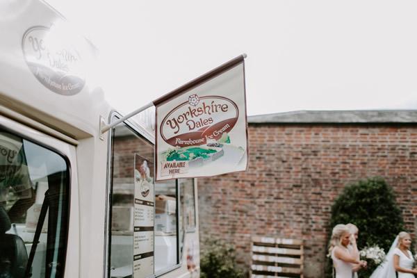wedding day ice cream van hire